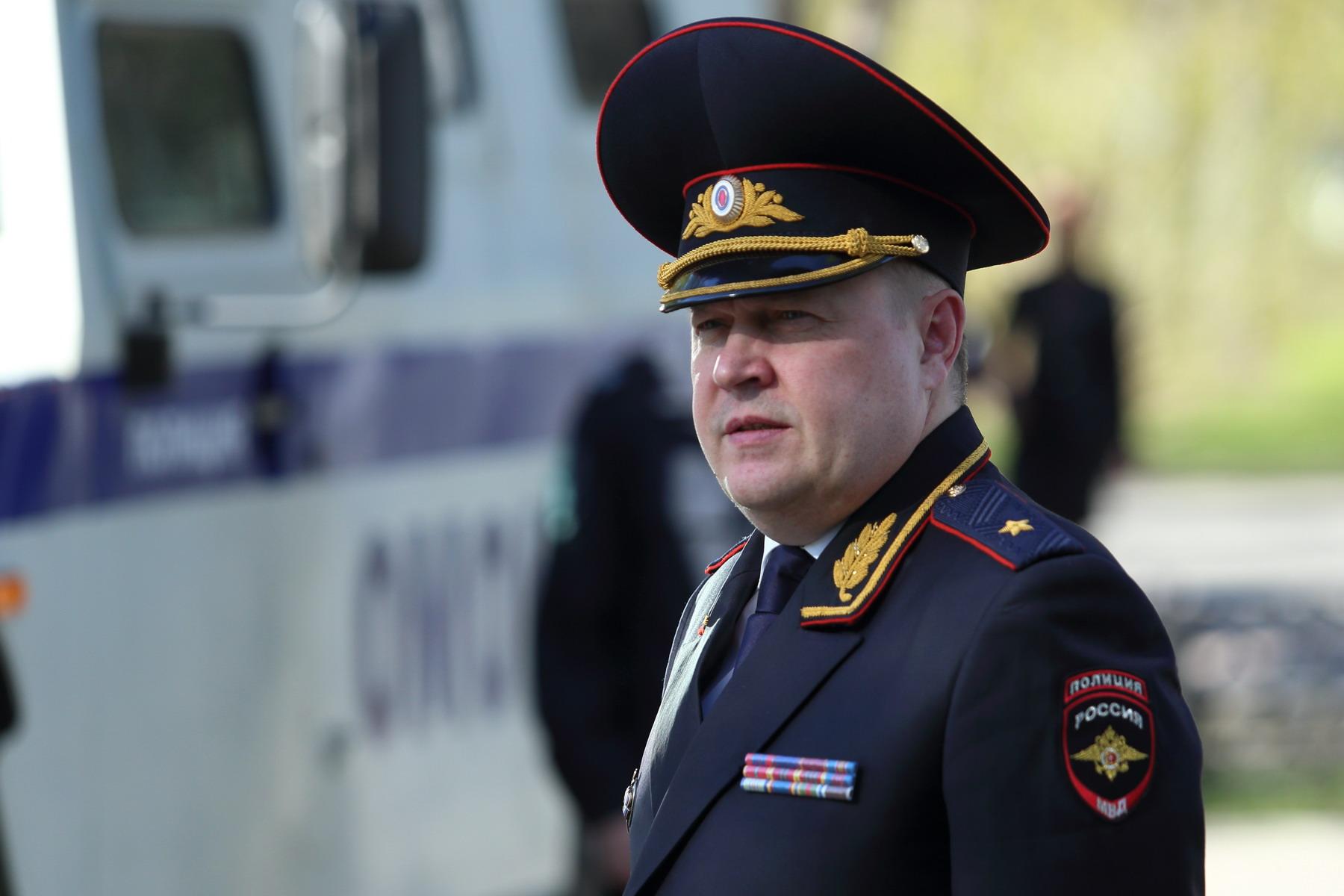Глава УМВД Томской области Игорь Митрофанов вышел на пенcию